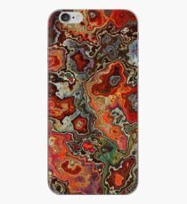 Blood Geode iPhone Case
