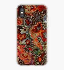 Blood Geode iPhone Case