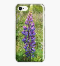 Luscious Lilac Lupin iPhone Case/Skin