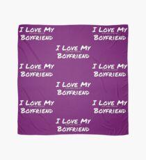 I Love My 'Food More Than My' Boyfriend Scarf