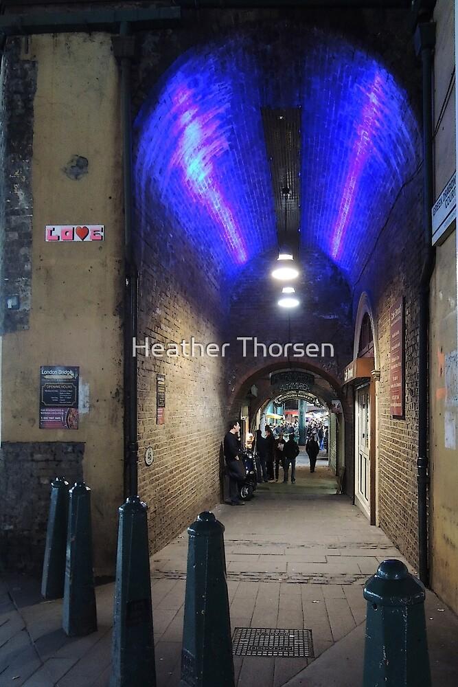 Borough Market, London by Heather Thorsen