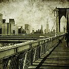 walk on the bridge by Sonia de Macedo-Stewart
