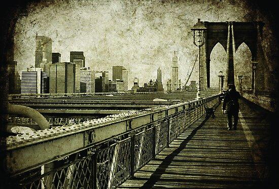 walk on the bridge by Sonia de Macedo-Stewart