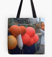 Brightly Coloured Bouoys Tote Bag