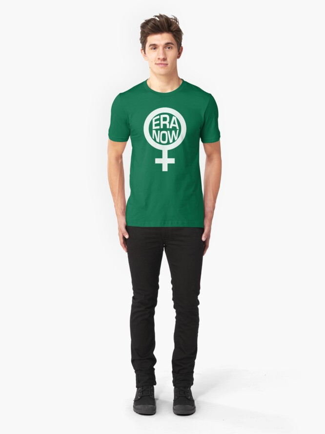Alternate view of ERA NOW - Ratify the ERA Slim Fit T-Shirt