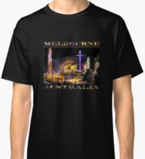 Fairground Attraction (diptych - left side) Classic T-Shirt