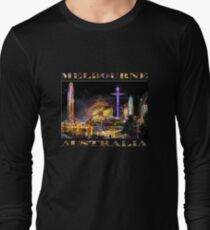 Fairground Attraction (diptych - left side) Long Sleeve T-Shirt