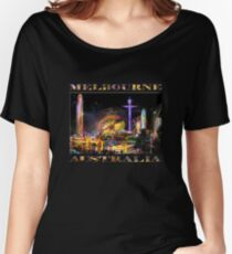 Fairground Attraction (diptych - left side) Women's Relaxed Fit T-Shirt