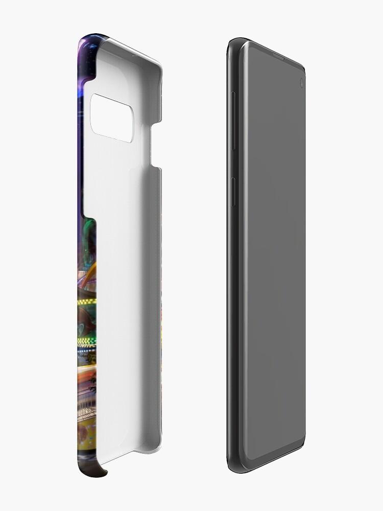 Alternate view of Fairground Attraction (diptych - left side) Case & Skin for Samsung Galaxy