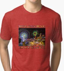 Fairground Attraction (diptych - right side) Tri-blend T-Shirt