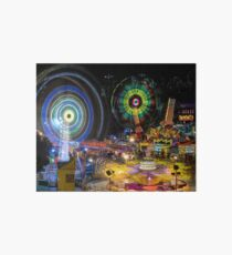Fairground Attraction (diptych - right side) Art Board