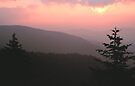SUNSET FROM CLINGMANS DOME by Chuck Wickham