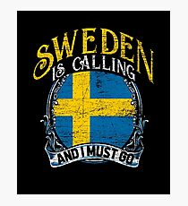 Sweden travel Photographic Print