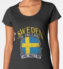 Sweden travel Women's Premium T-Shirt