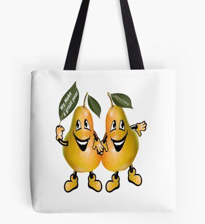 pear Sticker ( 105 Views) Tote Bag