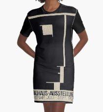 Bauhaus Logo on 1923 Weimar Advertisement Graphic T-Shirt Dress