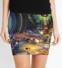 Fairground Attraction (diptych - right side) Mini Skirt
