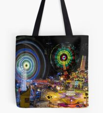 Fairground Attraction (diptych - right side) Tote Bag