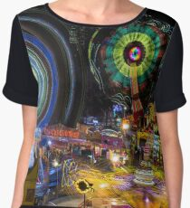 Fairground Attraction (diptych - right side) Chiffon Top