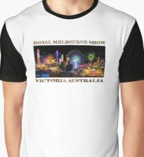 Fairground Attraction (poster on white) Graphic T-Shirt
