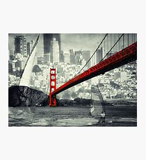 Essence of San Francisco Photographic Print