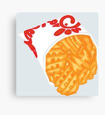 Chick Fil A Fries Canvas Print
