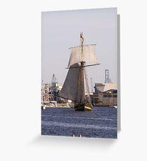 Battleship Greeting Card