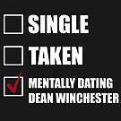 Mental Dean Winchester von clarencemasters