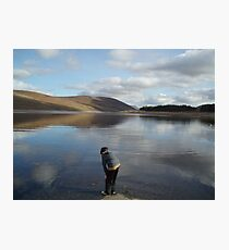 Looking for Lochness Monster Photographic Print