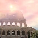 Colosseum Rome Italy Romantic Sky 1 by hurmerinta
