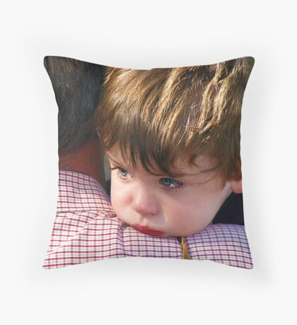 A shoulder to lean on.... Throw Pillow