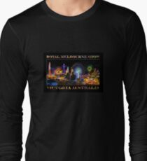 Fairground Attraction (poster on black) Long Sleeve T-Shirt