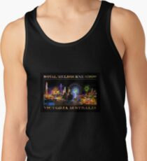 Fairground Attraction (poster on black) Tank Top