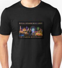 Fairground Attraction (poster on black) Unisex T-Shirt