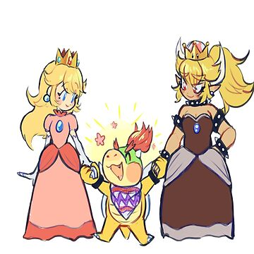 Peach and Bowsette by Dadlyfe420