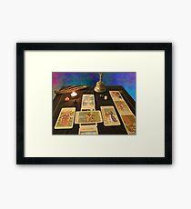 Tarot: Between the Worlds Framed Print