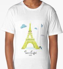 Tour Eiffel T-shirt long