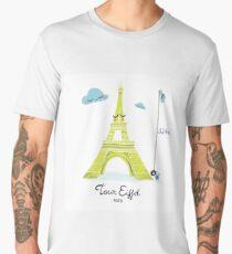 Tour Eiffel T-shirt premium homme