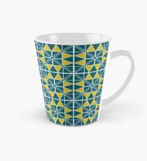 Emerald Glow Pattern Tall Mug