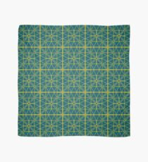 Green Triangle Pattern Scarf
