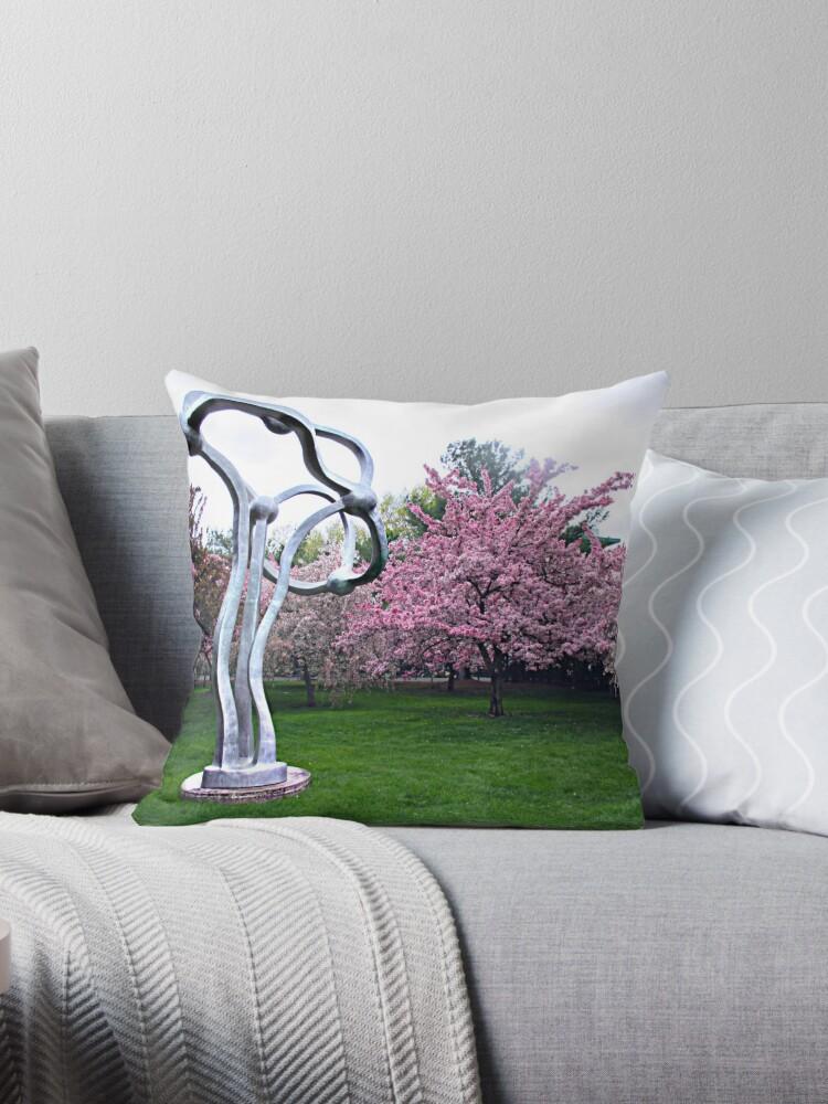 Bezaubernde rosa und silberne Bäume von Jane Neill-Hancock