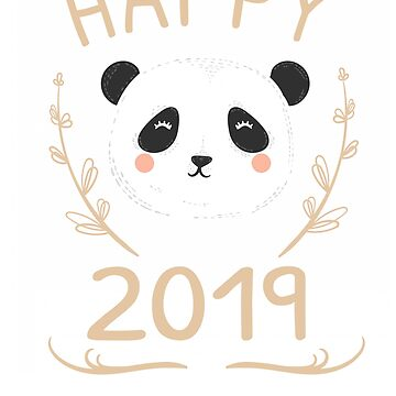 Happy Panda 2019 by iwaygifts