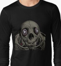 SKULL/ MESSAGE IN EYES T-Shirt