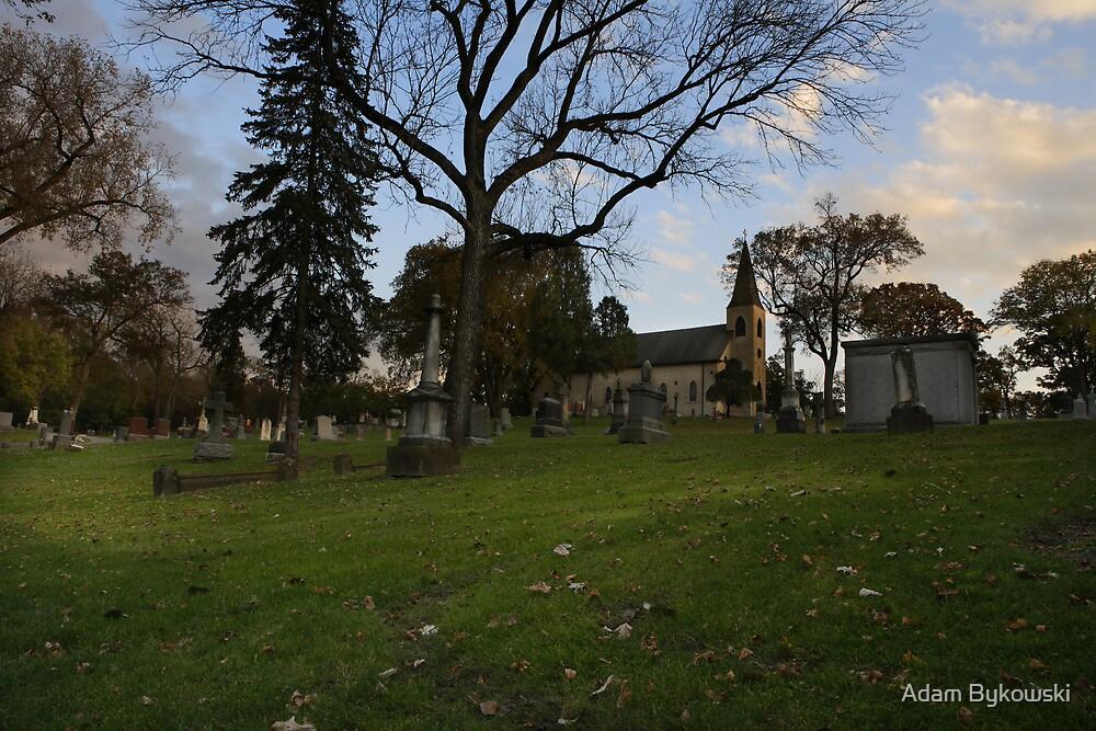 Ghost Story # 4 - St. James-Sag Cemetery by Adam Bykowski