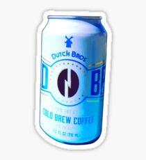 Dutch bros cold brew coffee Sticker