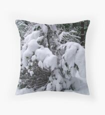 Snow Load Throw Pillow