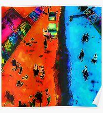 Frog Town Art Walk Poster
