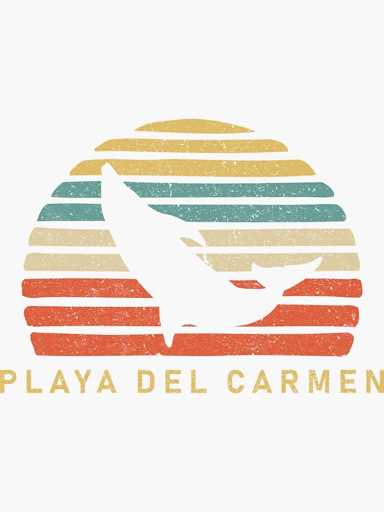 fb38d53edf3ebd Retro Playa Del Carmen Dolphin Gift