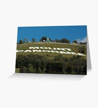 Mt Panorama Greeting Card