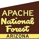 Apache National Forest Arizona Sign by MyHandmadeSigns